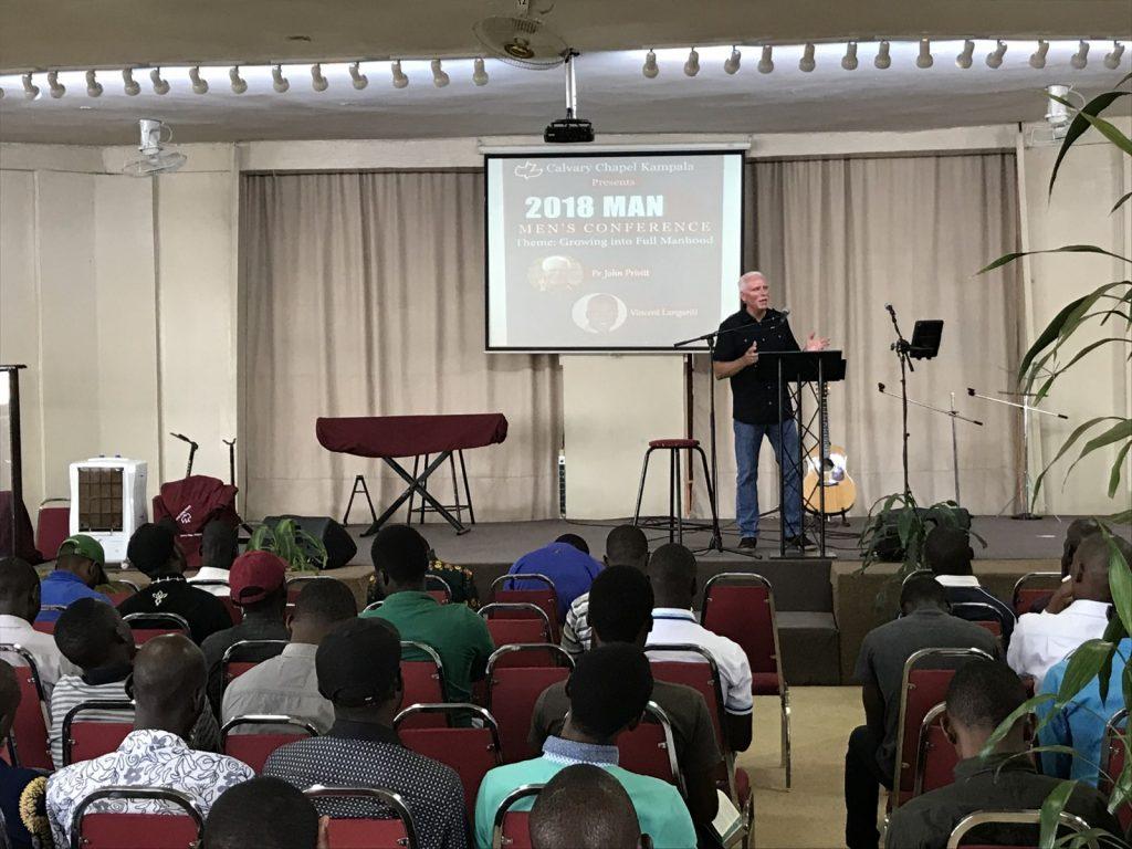 Men's Conference at Calvary Chapel Kampala