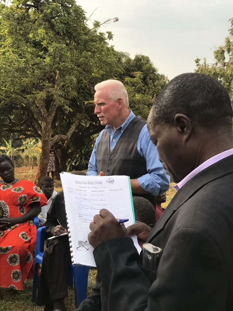 John Instructing at Katooke Village, Uganda
