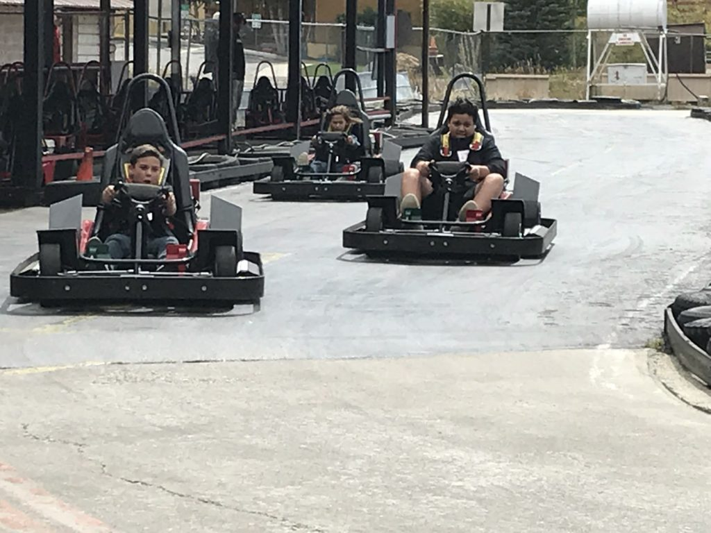Go Cart Races at Engage Men's Retreat 2018